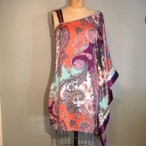 🔷 Baby Phat Sexy Short Kaftan style dress, Sz Sm